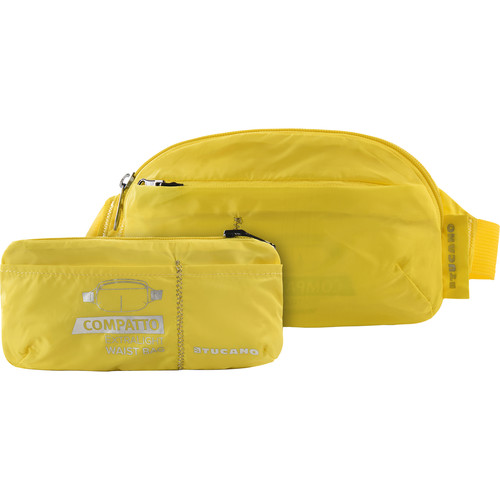 Tucano Extra-Light 1L Water-Resistant Packable Waistbag (Yellow)