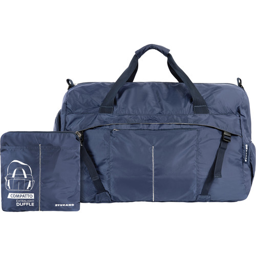 Tucano Compatto XL Water-Resistant 50L Duffle Bag (Blue)
