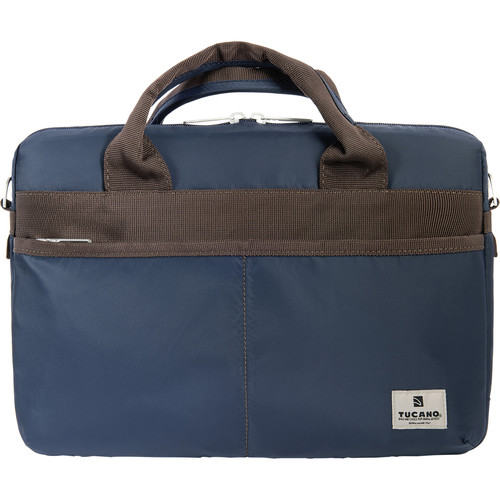 "Tucano Shine Slim 13 Bag for 13"" MacBook Pro or Notebook (Blue)"