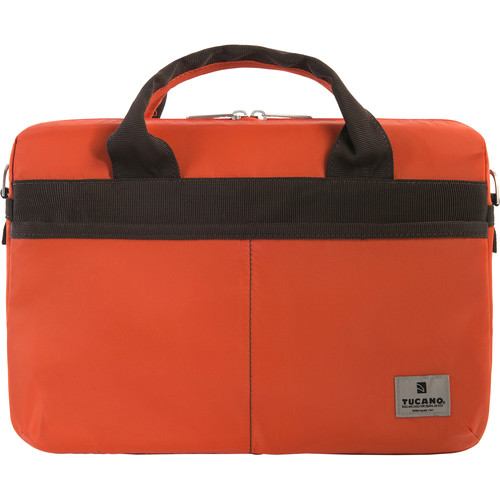 "Tucano Shine Slim 13 Bag for 13"" MacBook Pro or Notebook (Orange)"