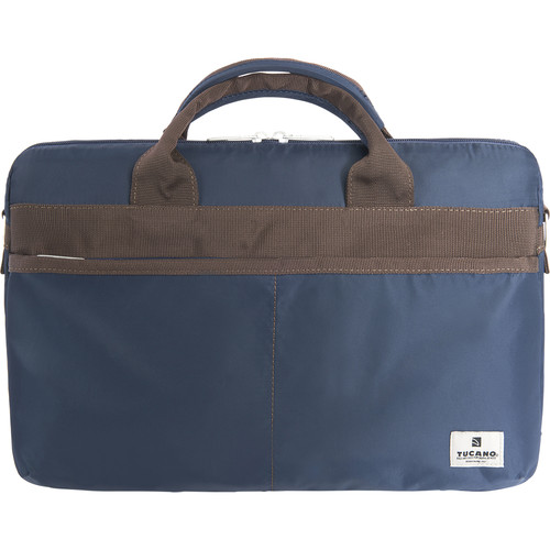 "Tucano Shine Slim 15 Bag for 15"" MacBook Pro / 15.6"" Notebook (Blue)"