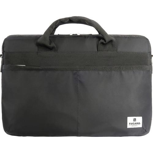 """Tucano Shine Slim 15 Bag for 15"""" MacBook Pro / 15.6"""" Notebook (Black)"""