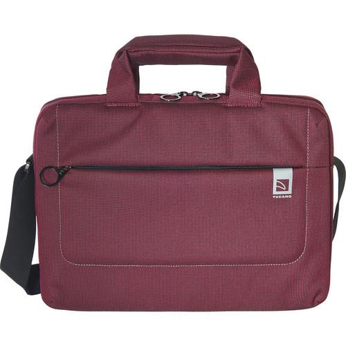 """Tucano Loop Small Slim Bag for 13"""" Laptop (Burgundy)"""