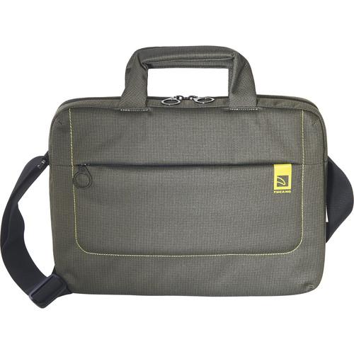 "Tucano Loop Small Slim Bag for 13"" Ultrabook and Notebook (Green)"