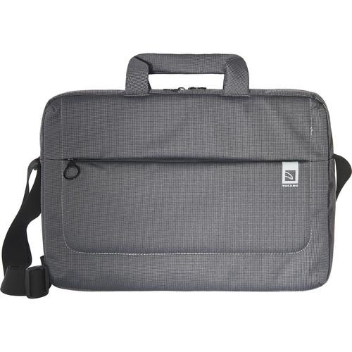 "Tucano Loop Large Slim Bag for 15"" Ultrabook and 15.6"" Notebook (Black)"