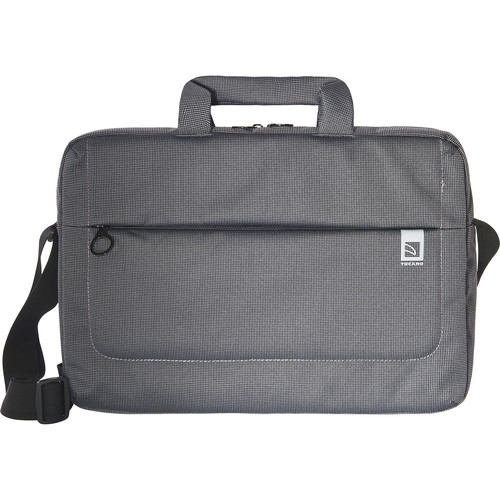 "Tucano Loop Large Slim Bag for 15"" Laptop (Black)"