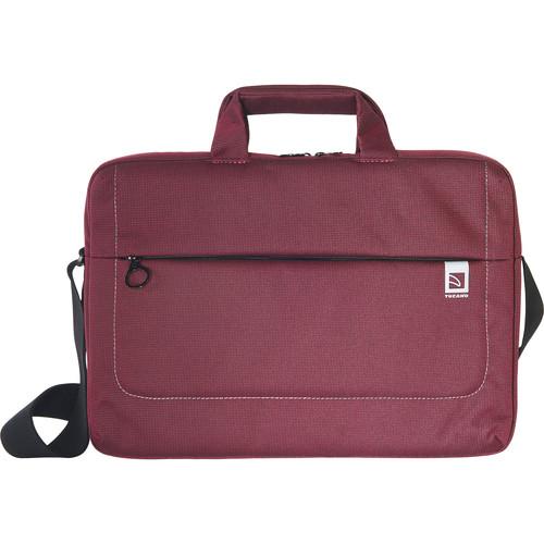 "Tucano Loop Large Slim Bag for 15"" Laptop (Burgundy)"