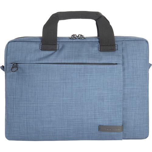 "Tucano Svolta Medium Slim Bag for 14"" Laptop (Blue)"