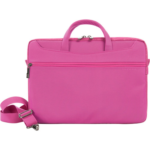 "Tucano Work_Out II Slim Bag for 13"" MacBook Air & Pro & 13"" Ultrabook (Fuchsia)"