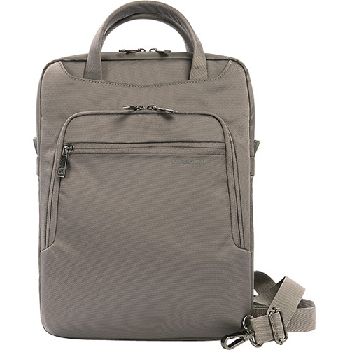 "Tucano Work_Out II Vertical Bag for 13"" Ultrabooks, MacBook Air, & MacBook Pro (Gray)"