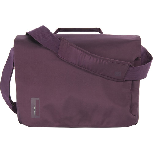"Tucano Work_Out messenger Bag for 15"" MacBook Pro/Retina (Purple)"