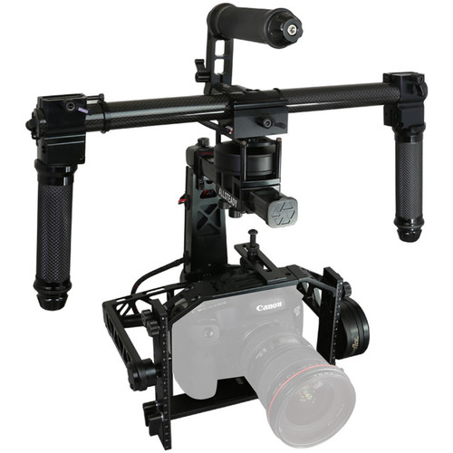 TURBO ACE AllSteady Motion 3-Axis Gimbal Deluxe Package for Large Size Camera/Lens