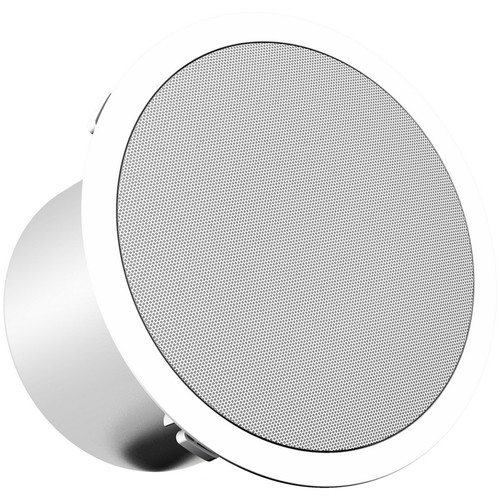 "Turbosound Athens TCS52C-T-WH 2-Way 5"" Full Range Ceiling Loudspeaker with Line Transformer (White)"