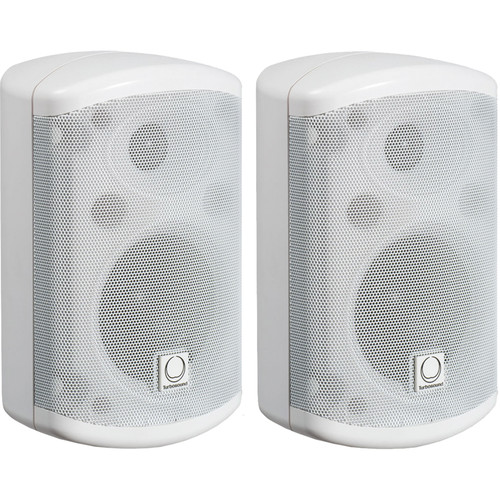 Turbosound Impact 35T Passive 2-Way Loudspeaker with Line Transformer (Pair, White)