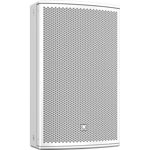 "Turbosound NuQ102-AN-WH 600W 2-Way 10"" Full-Range Powered Loudspeaker with KLARK TEKNIK DSP Technology and ULTRANET Networking (White)"