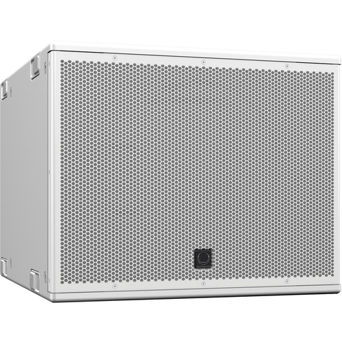 """Turbosound NuQ115B-WH 15"""" Front-Loaded 2000W Subwoofer (White)"""