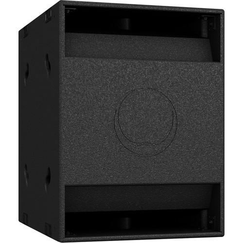 "Turbosound NuQ118B-AN 3000W 18"" Band-Pass Subwoofer with KLARK TEKNIK DSP Technology and ULTRANET Networking (Black)"