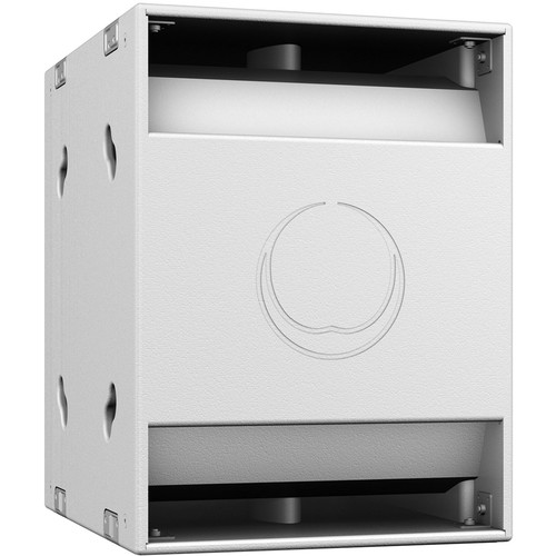 """Turbosound NuQ118B-AN 3000W 18"""" Band-Pass Subwoofer with KLARK TEKNIK DSP Technology and ULTRANET Networking (White)"""