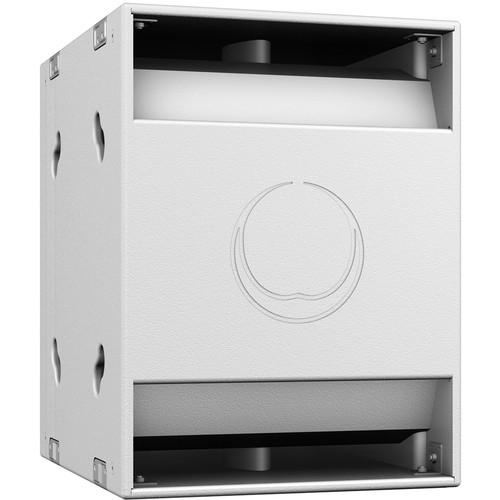 """Turbosound NuQ118B 18"""" 2400W Band-Pass Subwoofer (White)"""