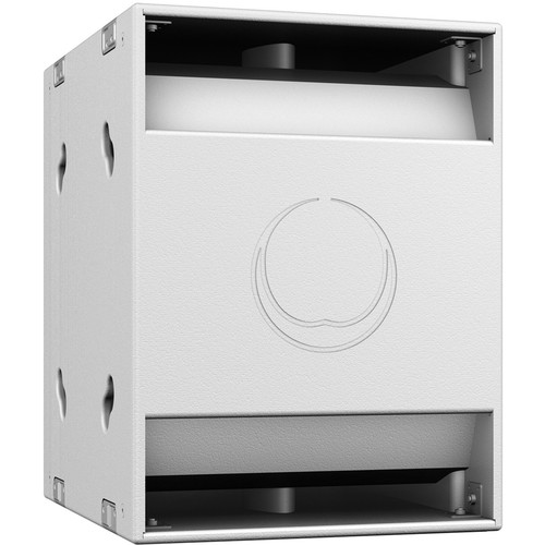 "Turbosound NuQ118B 18"" 2400W Band-Pass Subwoofer (White)"