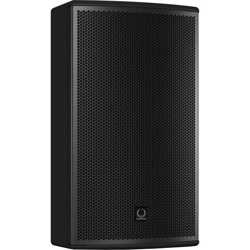"Turbosound NuQ122-AN 2500W 2-Way 12"" Full-Range Powered Loudspeaker with KLARK TEKNIK DSP Technology and ULTRANET Networking (Black)"