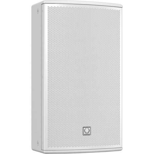 "Turbosound NuQ122-AN 2500W 2-Way 12"" Full-Range Powered Loudspeaker with KLARK TEKNIK DSP Technology and ULTRANET Networking (White)"