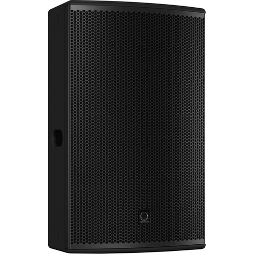 "Turbosound NuQ152-AN 2500W 2-Way 15"" Full-Range Powered Loudspeaker with KLARK TEKNIK DSP Technology and ULTRANET Networking (Black)"