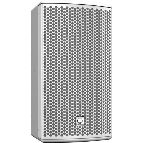"Turbosound NuQ62-WH 2-Way 6.5"" Full-Range Loudspeaker for Portable PA Applications (White)"