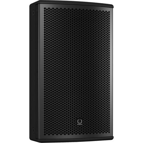 "Turbosound NuQ82-AN 600W 2-Way 8"" Full-Range Powered Loudspeaker with KLARK TEKNIK DSP Technology and ULTRANET Networking (Black)"