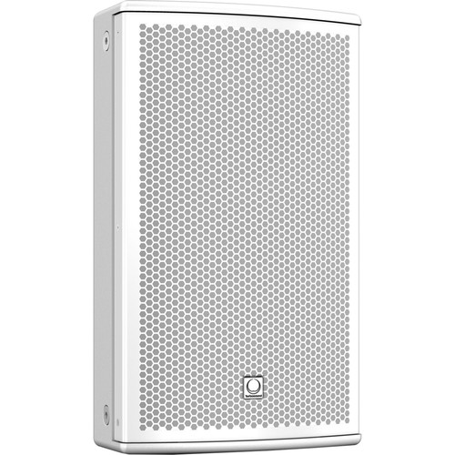 "Turbosound NuQ82-AN-WH 600W 2-Way 8"" Full-Range Powered Loudspeaker with KLARK TEKNIK DSP Technology and ULTRANET Networking (White)"