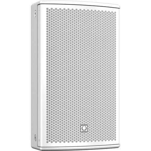 Turbosound NuQ-8DP Compact Self-powered 2-Way Loudspeaker (White)