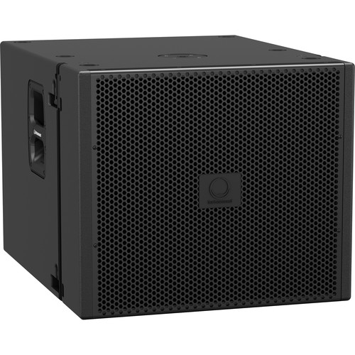 """Turbosound 18"""" 3000W Powered Subwoofer with Klark Teknik DSP and ULTRANET Networking"""