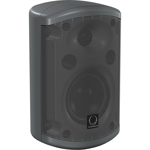 "Turbosound Impact TC132-T 2 Way 3.5"" Full Range Loudspeaker with Line Transformer (Black, 120W)"