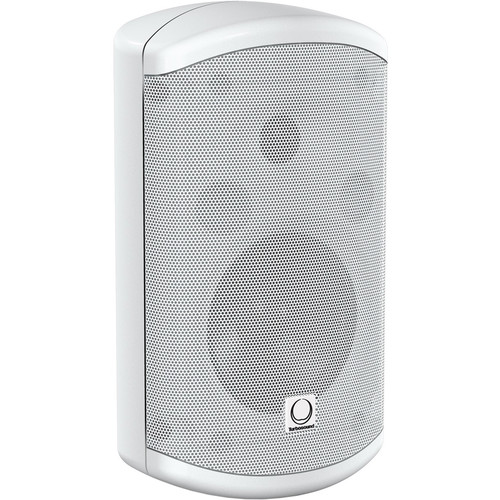 "Turbosound Impact TCI52-TR-WH 2-Way Weather-Resistant 5"" Full Range Loudspeaker with Line Transformer (White)"