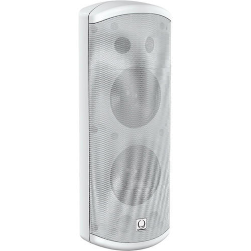 "Turbosound Impact TCI53-TR-WH Dual 2-Way Weather-Resistant 5"" Full-Range Loudspeakers with Line Transformer (White)"