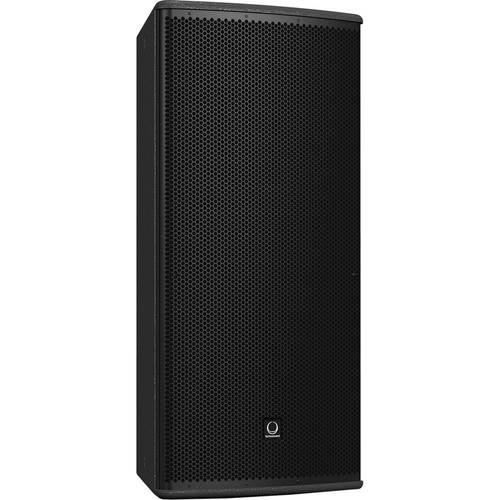 """Turbosound TCS122/64-R 12"""" Two-Way Full-Range Weather-Resistant Loudspeaker with Dendritic Waveguide (60° x 40° Dispersion Pattern, Black)"""