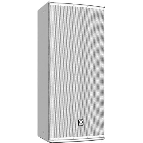 "Turbosound TCS-122 12"" Two-Way Full-Range Loudspeaker with Dendritic Waveguide (90° H x 40° V Dispersion, White)"