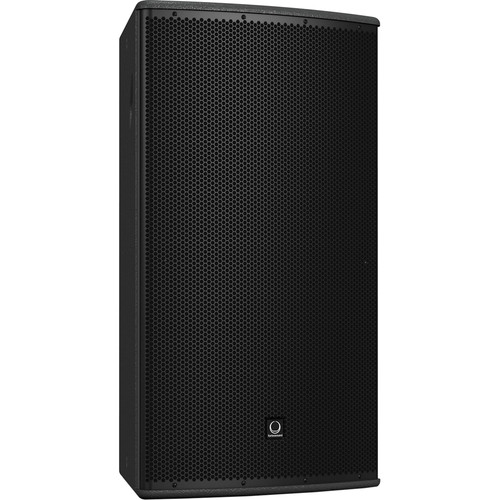"Turbosound TCS152/94-R 15"" Two-Way Full-Range Weather-Resistant Loudspeaker with Dendritic Waveguide (90° x 40° Dispersion Pattern, Black)"