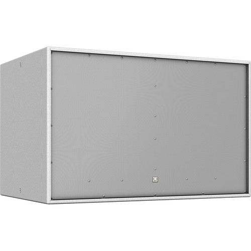 """Turbosound TCS218B-WH Athens Dual-18"""" Front-Loaded Subwoofer (White)"""