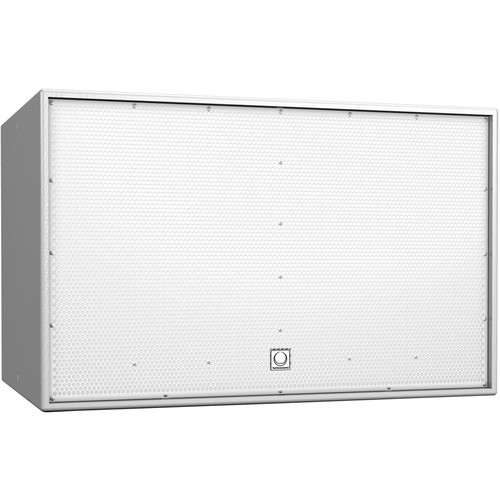 "Turbosound TCS218B-R-WH Athens Dual 18"" Front-Loaded Weather-Resistant Subwoofer (White)"