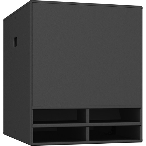 "Turbosound Dublin TCX118B-R 18"" Band-Pass Weather-Resistant Subwoofer (Black)"