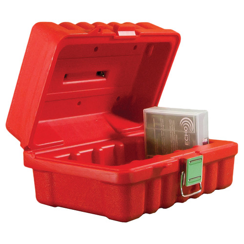 Turtle DLT/SDLT Compatible Case (5 Capacity, Red)