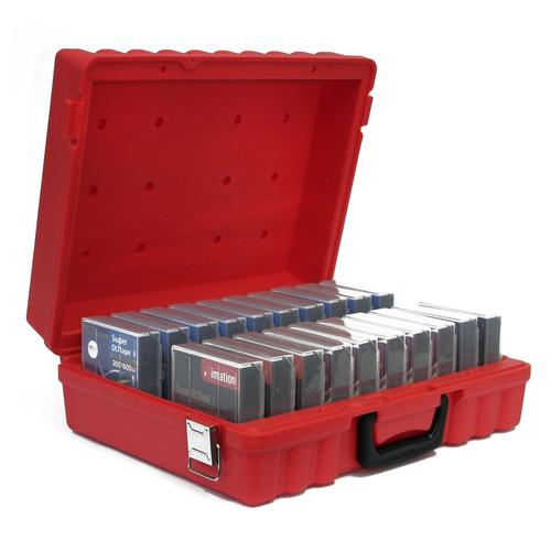 Turtle DLT/SDLT Compatible Case (20 Capacity, Red)