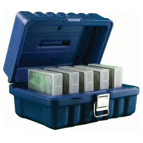 Turtle LTO Ultrium Compatible Case (5 Capacity, Blue)