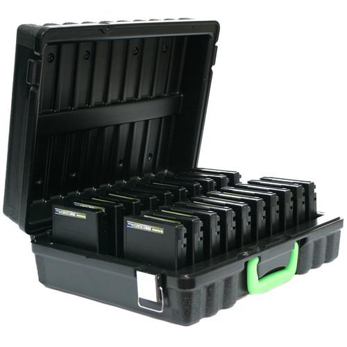 Turtle 3592/T10000 Compatible Case (20 Capacity, Black)