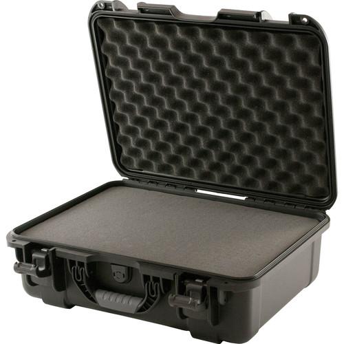 Turtle 539 ATA-Certified Waterproof Customizable Hard Case with Cubed Foam Insert (Black)