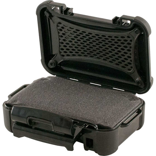 Turtle 130 Brick ATA-Certified Waterproof Hard Case with Cubed Foam Insert (Black)