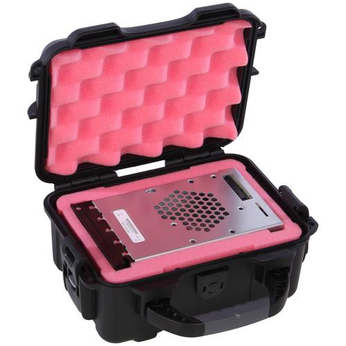 Turtle 504 ATA-Certified Waterproof Hard Case for 1 DCP (Digital Cinema Package) Drive