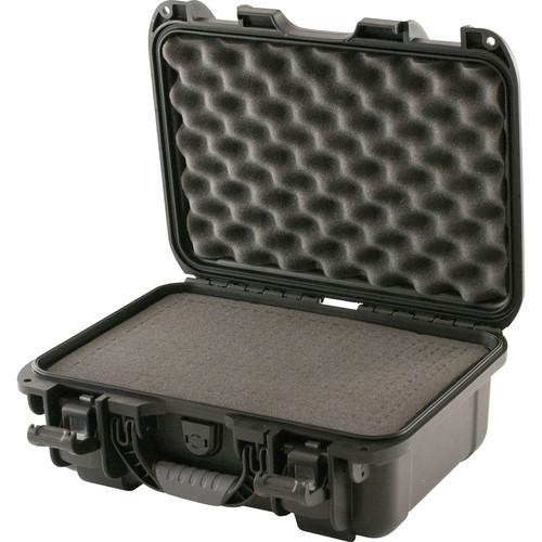 Turtle 519 ATA-Certified Waterproof Customizable Hard Case with Cubed Foam Insert (Black)