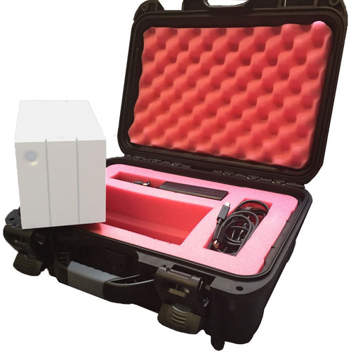 Turtle Carrying Case for the LaCie 2big RAID Array (Black)